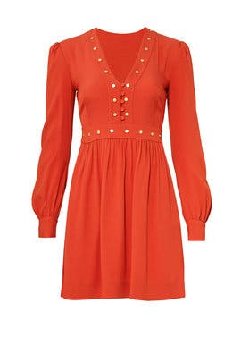Orange Neda Dress by Rachel Zoe