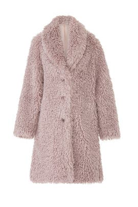 Down This Road Faux Fur Coat by somedays lovin