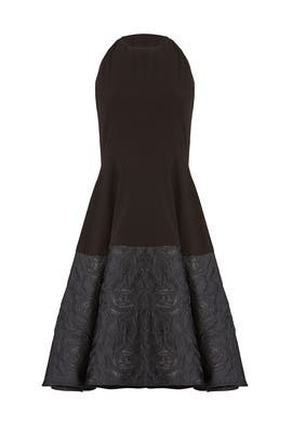 Black Sparkle Hem Dress by Slate & Willow
