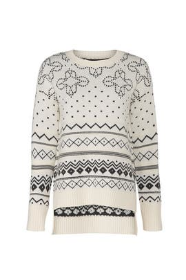 Intarsia Fair Isle Sweater by Thakoon Collective