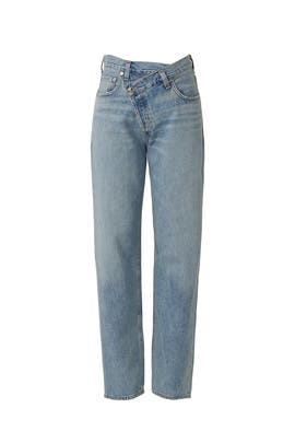Criss Cross Jeans by AGOLDE