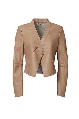 Camel Lloyd Jacket by BCBGMAXAZRIA