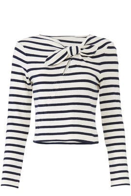 Knotted Stripe Top by Derek Lam 10 Crosby