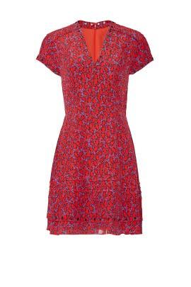 V-Neck Grommet Detail Dress by Derek Lam 10 Crosby