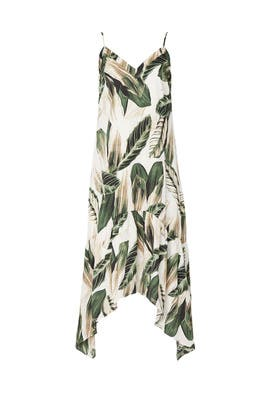 Sleeveless Palm Slip Dress by Great Jones