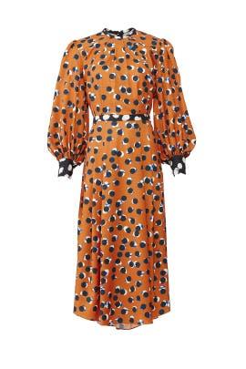 Burnt Dot Casper Dress by Hunter Bell
