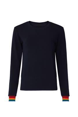 Rainbow Cuff Sweatshirt by MONROW