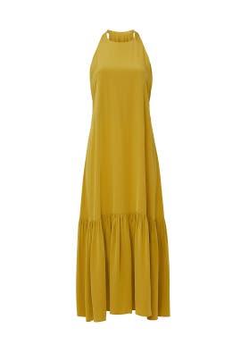Eco Silk Halter Dress by Tibi