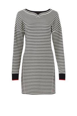 Stripe Boatneck Dress by Jason Wu