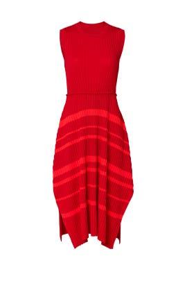 Striped Midi Dress by Nina Ricci