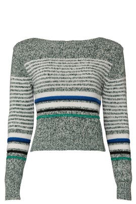 Striped Knit Sweater by See by Chloe