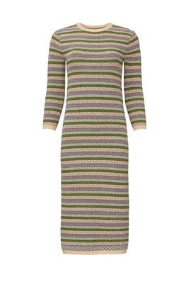 Novelty Stripe Sweater Dress by Sweet Baby Jamie