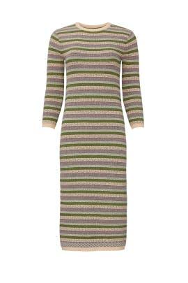 Novelty Stripe Sweater Dress by Sweet Baby Jamie