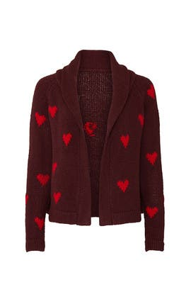 The Heart Lodge Cardigan by The Great.
