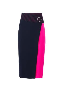Colorblock Samra Skirt by Tanya Taylor