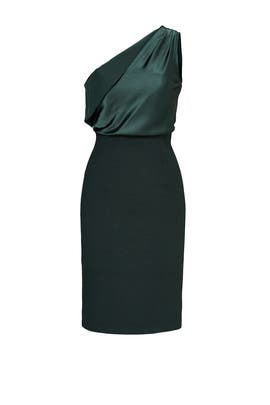 Green Maria Dress by INTER-PRET.US