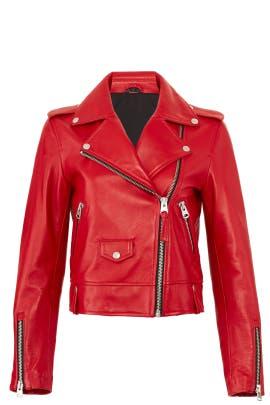 Baya Leather Jacket by Mackage