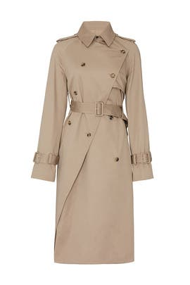 Twisted Trench Coat by Rokh