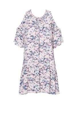 Printed Ora Dress by Amanda Uprichard