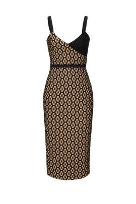 Sera Printed Sheath Dress by Cinq à Sept