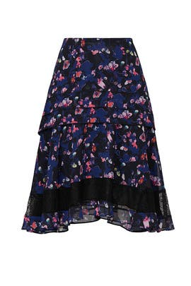 Printed Layer Skirt by Jason Wu Collective