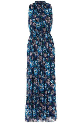 Midnight Floral Maxi by Jason Wu
