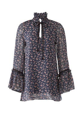 All Over Roses Blouse by See by Chloe