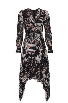 Lizia Wing Dress by AllSaints