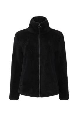 Alonso Faux Sherpa Jacket by B Collection by Bobeau