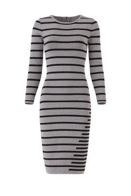 Striped Gia Knit Sheath by John + Jenn