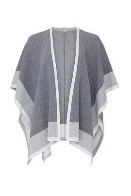 Grey Cape Sweater by RACHEL ROY COLLECTION