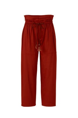 Red Draw String Pants by See by Chloe