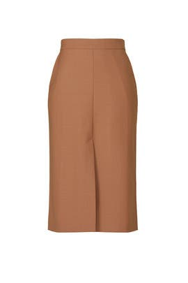 Beige Pencil Skirt by Seventy