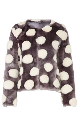 Bubbles Faux Fur Jacket by Unreal Fur