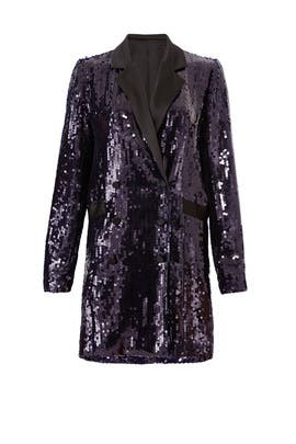 Sequin Blazer Dress by Fleur du Mal