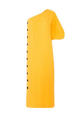 Yellow Emilie Dress by Mara Hoffman