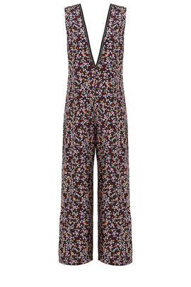 Freesia Printed Jumpsuit by Mother of Pearl