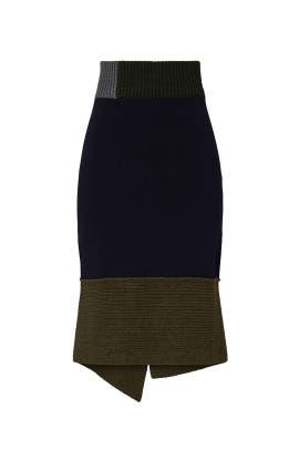Chunky Trim Skirt by Victoria Beckham