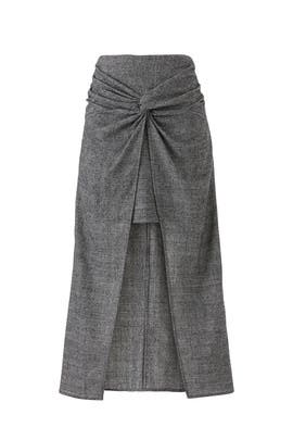 Grey Zola Skirt by AMUR