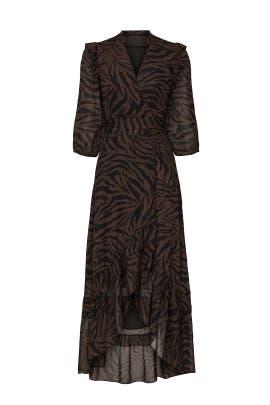 Animal Print Selena Dress by ba&sh