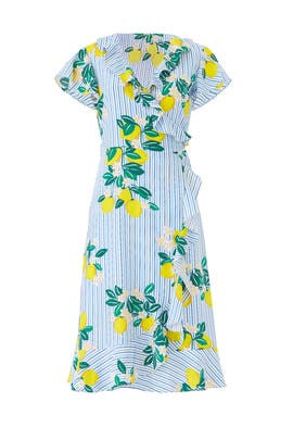 Lemon Blossom Wrap Dress by Draper James