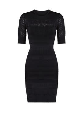 Textured Knit Dress by Jason Wu