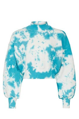 Blue Tie Dye Sweatshirt by Spiritual Gangster