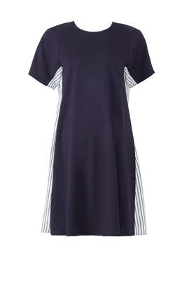 Navy Stripe Maternity Shift by Slate & Willow