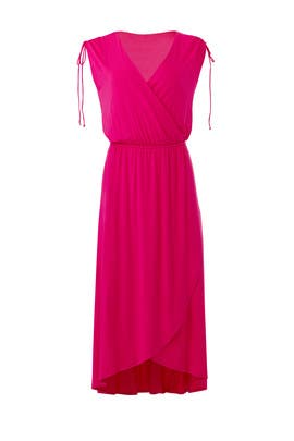 Pink Surplice Dress by Slate & Willow