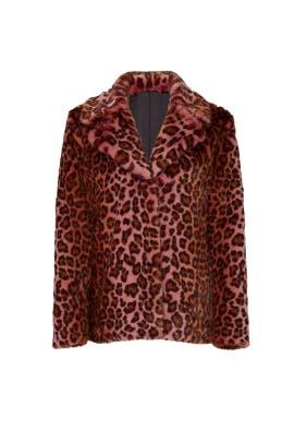 Faux Fur Urban Tiger Jacket by Unreal Fur