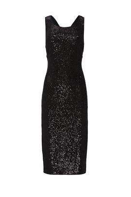 Mercury Sequin Dress by Diane von Furstenberg