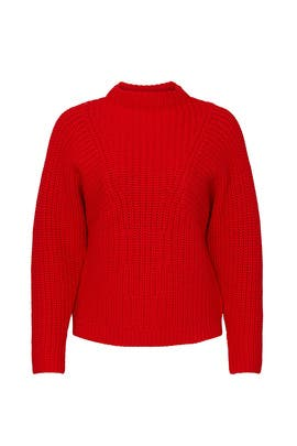 Omee Funnel Neck Sweater by Equipment