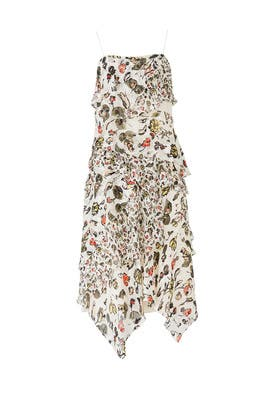 Painterly Floral Dress by Jason Wu