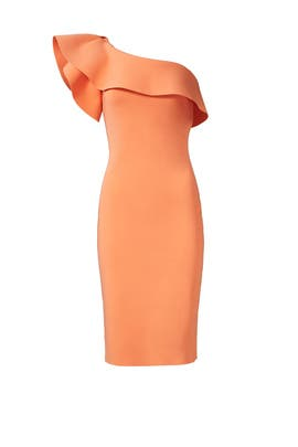 Orange Elisse Dress by La Petite Robe di Chiara Boni